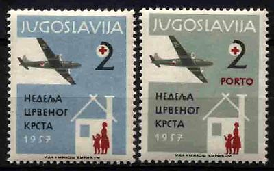 2279 YUGOSLAVIA 1957 Red Cross **MNH