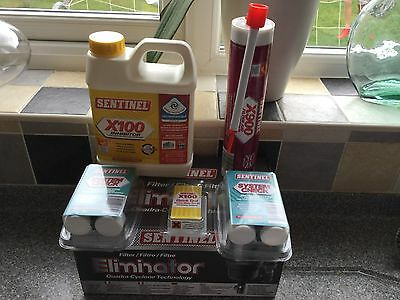 Sentinel Maintainence Pack (Filter. X900 filter aid, X100 Inhibitor)