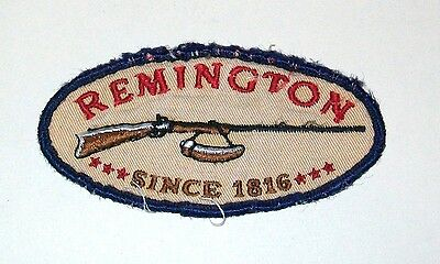 Remington Rifles Co. - Oval Embroidered Patch