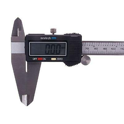 "New 12"" Electronic Digital Caliper Precision Stainless Inch/Metric LCD Dial Tool"