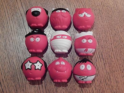 Red Nose Comic Relief 2017 rare set of 9 noses brand new