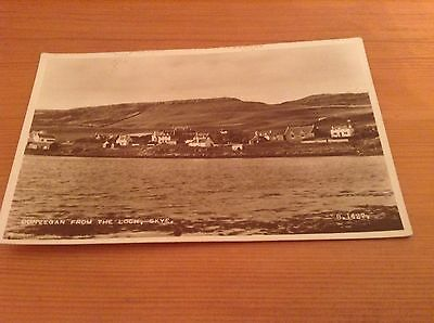 Real Photograph Postcard - Dunvegan From The Loch, Skye.