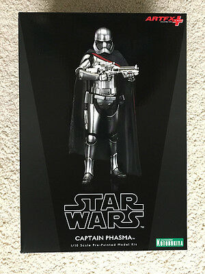 Kotobukiya Artfx+ Captain Phasma Statue - The Force Awakens - New Sealed!!