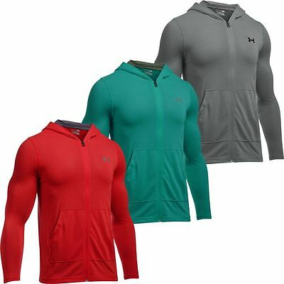Under Armour 2017 Heatgear Threadborne Fitted FZ Hoody Cover-Up Sports Hoodie