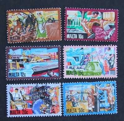 1981 Malta Industry History stamps