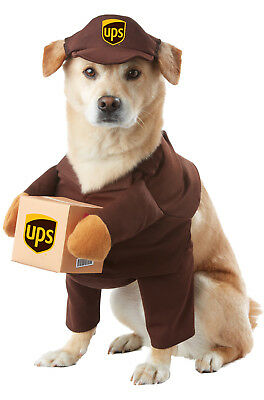 UPS Delivery Driver Uniform Pal Pet Dog Costume