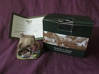 """Lilliput Lane. """"THE LITTLE MILL"""" 2001 The British Collection (L2501) Deeds & Box"""