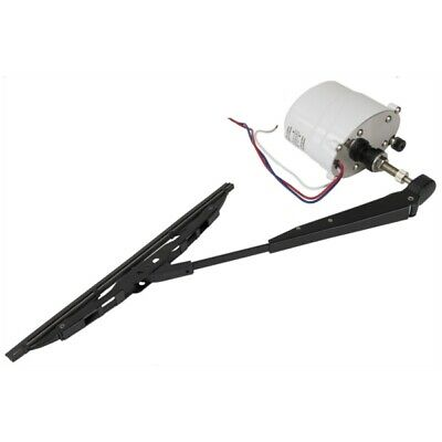 Electric Windshield Black Wiper Motor Self Park Rzr Commander Ranger 80 Sweep