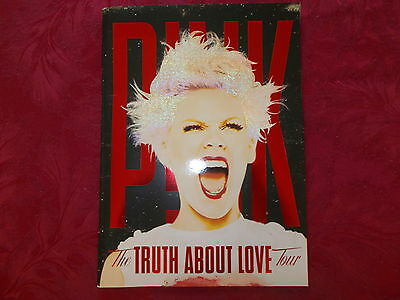 Pink The Truth About Love Tour Programme 2013