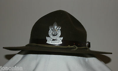 Early 1960s BOY SCOUTS CANADA STETSON + BADGE / VINTAGE HAT provenance
