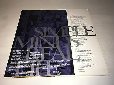 Simple Minds Real Life Lp
