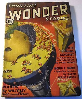 Thrilling Wonder Stories - US Pulp – Dec. 1937 – Vol.10 No.3 - Farley, Kuttner
