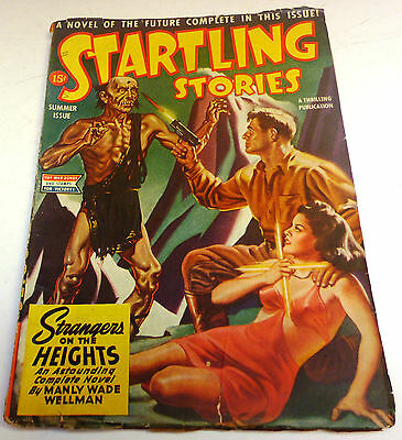 Startling Stories - US Pulp - Vol.11 No.1 – Summer 1944 - Wellman, C.A.Smith