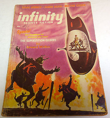 Infinity Science Fiction – US Digest – Dec. 1956 – Vol.1 No.6 - Asimov, Blish