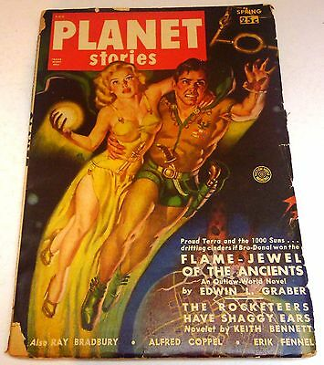 Planet Stories – US Pulp – Spring 1950 – Vol.4 No.6 - Bradbury, Coppel, Graber
