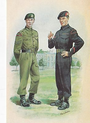 Stadden Uniforms The Royal Marine Forces Volunteer Reserve Postcard No.71 Used