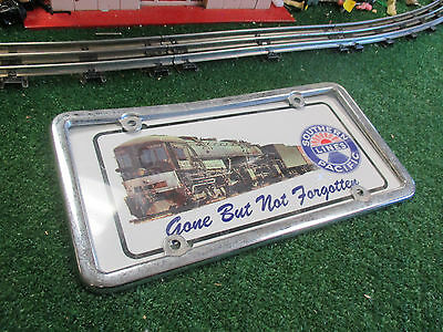 Southern Pacific Lines Vanity Plate And Frame