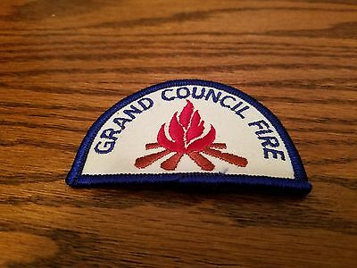VINTAGE CAMP FIRE GRAND COUNCIL PATCH, New