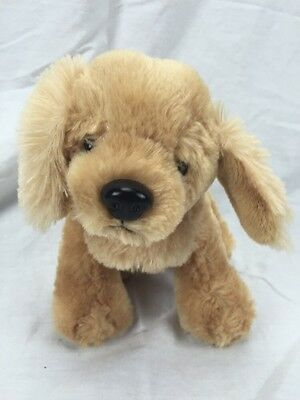 "Webkinz Plush Butterscotch Retriever Dog EUC 10"" W/TAIL"