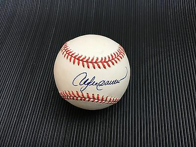 Andre Dawson Signed Autographed Official National League Baseball Expos Cubs