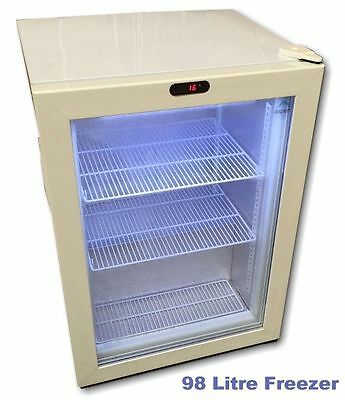 Commercial Display Counter Top Freezer 98L NEW