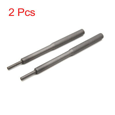 2Pcs Universal Valve Guide Remover Grinding Stick Lapping Tool Gray