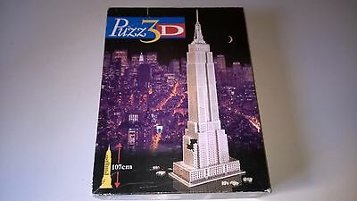 PUZZ 3d Empire State Building MB  PUZZ 3d Puzzle COMPLETO