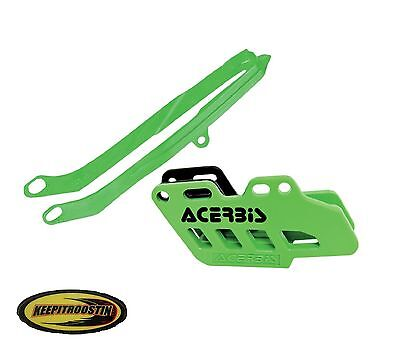 Acerbis Chain Guide and Slider Green For Kawasaki Kx250f Kx450 2012 2013 2014 Kx