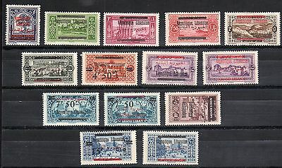 Lebanon 1937 Collection Of 66 Mint Inlcuding S.g.231-5,325-333,252-7,320,249,124