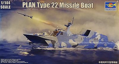 TRUMPETER® 00108 PLAN Type 22 Missile Boat in 1:144