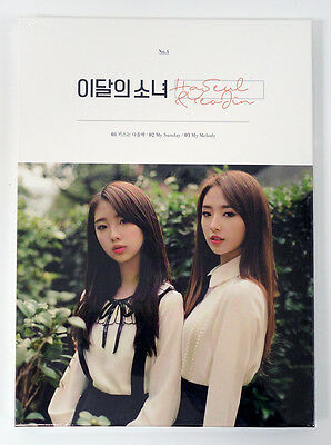 monthly girl LOONA - HaSeul&YeoJin (Single Album) CD+Photobook+Photocard