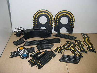 31 X Pieces Assorted Micro Scalextric Track