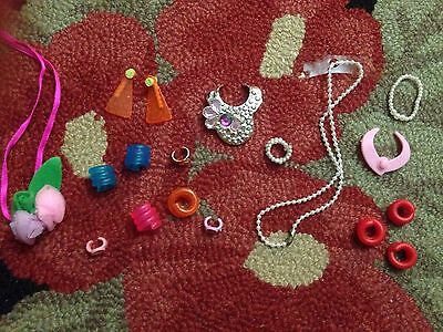 Vintage Superstar Era Barbie Doll Jewelry Lot Jewel Secrets ~
