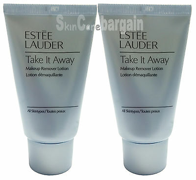 Estee Lauder Take It Away Makeup Remover Lotion 60ml (30mlx2) New