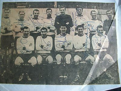 WALSALL  TEAM PICTURE  1970s   13  Players  Signed