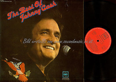 Lp--The Best Of Johnny Cash // Sonocord