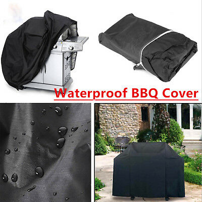 4XS-XL BBQ Barbecue Grill Cover Mask Outdoor Waterproof Duty Rain Gas Protection