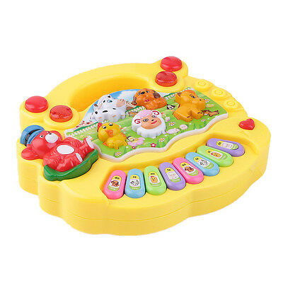 Hot Baby Kids Game Musical Educational Animal Farm Piano Developmental Music Toy
