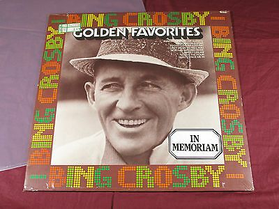 Bing Crosby  GOLDEN FAVOURITES  -  LP MCA Coral originalverpackt factory sealed