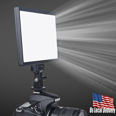 Ultra Thin Adjustable Color Temperature LED Fill Light Lamp For Camera Video