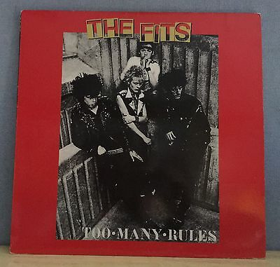 THE FITS Too Many Rules - 1997 Italian manufactured vinyl LP EXCELLENT CONDITION