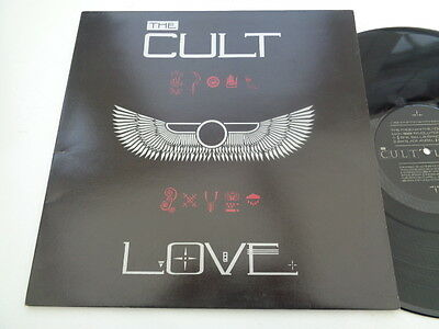 the  cult  ( love ) album   on beggar  banquet  records   1985