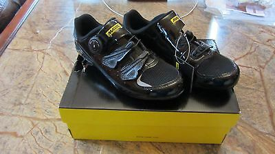 Mavic Ksyrium Ultimate 2 Road Cycling Shoes NEW SPD BNIB UK Size 4 Black