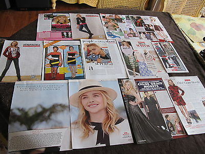 Chloe Grace Moretz French Us Clippings