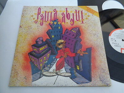 paula  abdul  12  inch  single  on siren  records  1990 limited edition gatefold
