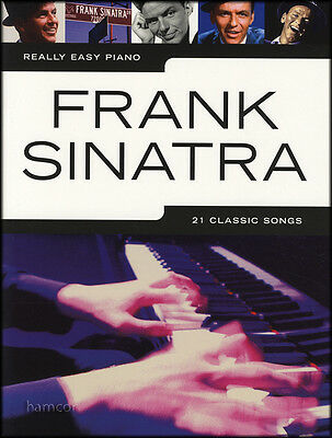Really Easy Piano Frank Sinatra Sheet Music Book 21 Classic Songs