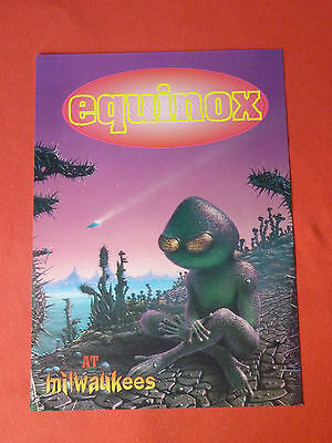 Equinox at Milwaukees rave flyer / flyers -  May 1993 Mint