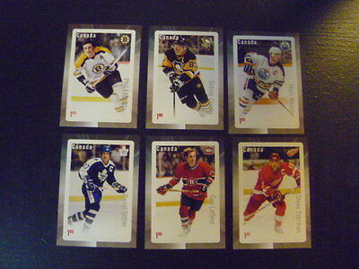 CANADA Souvenir Stamp Sheets -  NHL Great Canadian Forwards