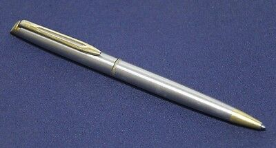 Waterman Hemisphere Ballpoint Stainless Steel Pen Made in France
