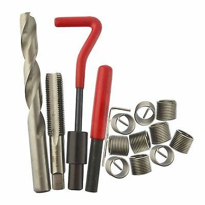M14 x 1.5mm Thread repair kit / helicoil 9pc set damaged thread 15pc AN025